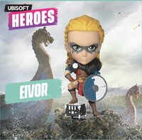 "Ubisoft Chibi Figurine - Ubisoft Heroes Collection Series 2 - Eivor Female ""Assassin's Creed"""