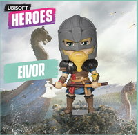 "Ubisoft Chibi Figurine - Ubisoft Heroes Collection Series 2 - Eivor Male ""Assassin's Creed"""