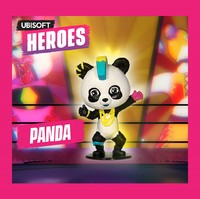 Ubisoft Chibi Figurine - Ubisoft Heroes Collection Series 2 -  Just Dance Panda