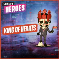 Ubisoft Chibi Figurine - Ubisoft Heroes Collection Series 2 -  Watch Dogs: King Of Hearts