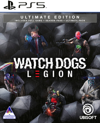 Watch Dogs: Legion - Ultimate Edition (PS5) - Cover