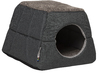 Rogz Cat Bed Two-In-One Igloo Oslo (Olive & Grey)