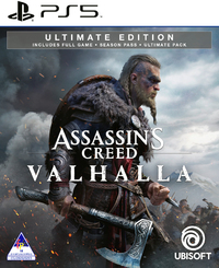 Assassin's Creed Valhalla - Ultimate Edition (PS5) - Cover