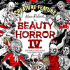 The Beauty of Horror 4: Creature Feature Coloring Book - Alan Robert (Paperback)