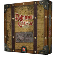 Robinson Crusoe: Adventures on the Cursed Island - Treasure Chest Expansion (Board Game) - Cover