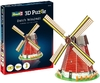 Revell - Dutch Windmill 3D Puzzle (20 Pieces)
