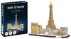 Revell - Paris Skyline 3D Puzzle (114 Pieces)