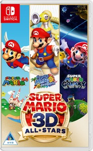 Super Mario 3D All Stars (Nintendo Switch) - Cover