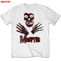The Misfits - Hands Boys T-Shirt - White (7-8 Years) - Cover