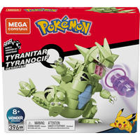Mega Construx - Pokemon - Tyranitar (396 Pieces)