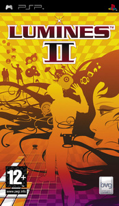 Lumines II (PSP) - Cover