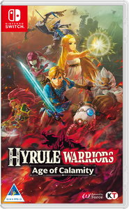 Hyrule Warriors: Age of Calamity (Nintendo Switch) - Cover