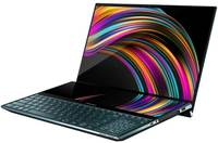 ASUS - Zenbook PRO DUO UX581LV-I93210BLR I9-10980HK 32GB RAM 1TB SSD NVIDIA RTX 2060 6GB Win 10 Pro 15.6 inch UHD Notebook - Blue - Cover