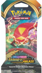 Pokémon TCG - Sword & Shield - Darkness Ablaze Single Sleeved Booster (Trading Card Game) - Cover
