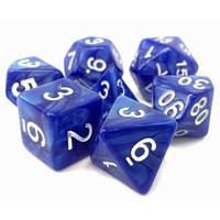 Tasty Minstrel Games - Set of 7 Polyhedral Dice - Sigil of Faith