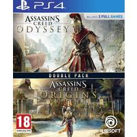 Assassin's Creed Odyssey & Assassin's Creed Origins - Double Pack (PS4)