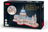 Cubicfun - St. Paul's Cathedral (643 Pieces) - Cover