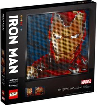 LEGO® Art - Marvel Studios Iron Man (3167 Pieces) - Cover