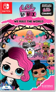 LOL Surprise: Remix Edition: We Rule The World (Nintendo Switch) - Cover