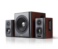 Edifier S350DB Desktop / Bookshelf / Gaming Bluetooth Speaker With Subwoofer (Brown) - Cover