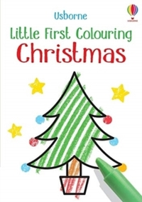 Little First Colouring: Christmas - Kirsteen Robson (Paperback) - Cover