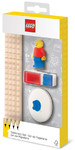 LEGO IQHK - LEGO Stationery Set with Minifigure (8 Pieces)