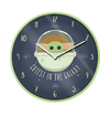 Star Wars: The Mandolorian - Cutest in the Galaxy 10'' Clock