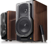 Edifier S2000MKIII 2.0 Powered Bookshelf Speakers (Dark Woodgrain)