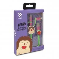 Swipe - Hedgehog 3-In-1 USB Cable