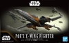 Bandai - 1/72  - Star Wars: The Rise of Skywalker - Poe's X-Wing Fighter (Plastic Model Kit)