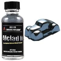 Alclad2 - Airbrush Model Paint Lacquer - Chrome For Lexan (30ml)