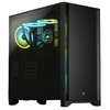 Corsair - 4000D Tempered Glass Mid-Tower ATX Case - Black