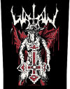 Watain - Inverted Cross Back Patch