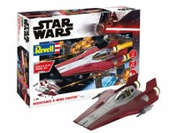 Revell - 1/144 - Star Wars - Resistance A-wing Fighter - Red (Plastic Model Kit) - Cover