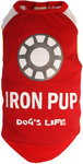 Dog's Life - I Am An Iron Pup Tee - Red (X-Small)
