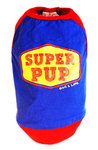 Dog's Life - I am A Super Pup Tee - Blue (Large)