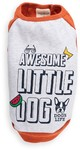 Dog's Life - Awesome Little Dog Tank Top - Orange (X-Small)