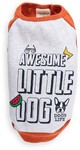 Dog's Life - Awesome Little Dog Tank Top - Orange (Small)