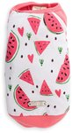 Dog's Life - Cool Watermelon Summer Tee - White (X-Small)