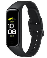 Samsung Galaxy Fit2 Fitness Smartwatch - Black - Cover