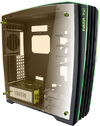 InWin H-Frame 2.0 Tower Black, Green 1065W Open Frame Chassis
