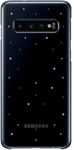 Samsung EF-KG973 Galaxy S10 LED Back Cover - Blue/Black
