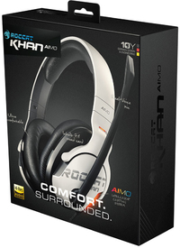 ROCCAT - Khan Aimo AIMO 7.1 RGB Gaming Headset - White (PC/Gaming)