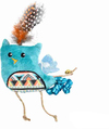 Cat's Life - Indie Bird Cat Toy With Feather (21cm)
