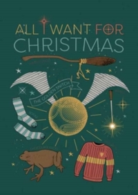Harry Potter: All I Want For Christmas Embellished Card - Cover