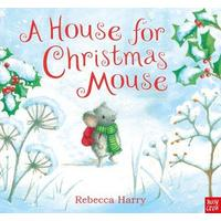 A House For Christmas Mouse - Rebecca Harry (Paperback)