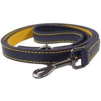 Joules - Navy Leather Lead