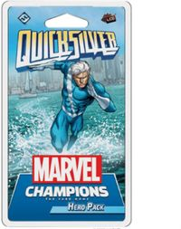 Marvel Champions: The Card Game - QuickSilver Hero Pack (Card Game) - Cover