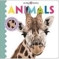 Touch & Feel Friends Animals - Roger Priddy (Hardcover)