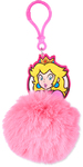 Super Mario - Princess Peach Pom Pom Keychain
